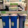 Máy lọc nước tinh khiết R.O Viet-Sing vỏ tủ inox kính cường lực Versace